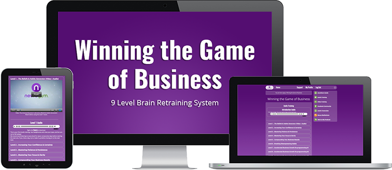 Winning The Game Of Business Success Training System
